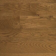 "Character 5"" Engineered White Oak Flooring in Gunstock"