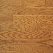 "Color Plank 3-1/4"" Engineered White Oak Flooring in Harvest Oak"