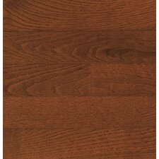 "Color Plank 5"" Engineered Red Oak Flooring in Mocha"