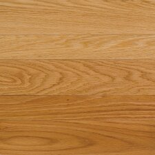 "High Gloss 5"" Engineered Red Oak Flooring in Natural"