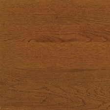 "High Gloss 3-1/4"" Engineered White Oak Flooring in Spice"