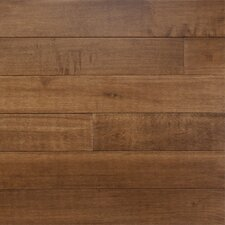 "Specialty 5"" Solid Maple Flooring in Canyon Brown"