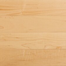 "Solid 4"" Maple Plank Flooring in Natural"