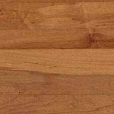 "Solid 4"" Maple Plank Flooring in Tumbleweed"