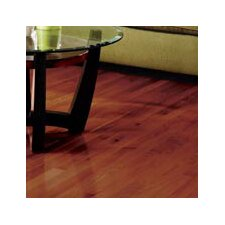 "Color Plank 5"" Solid Red Oak Flooring in Cherry Oak"
