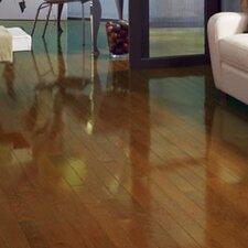 "Color Strip 2-1/4"" Solid White Oak Flooring in Chestnut High Gloss"