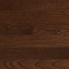 """Color Strip 2-1/4"""" Solid White Oak Flooring in Metro Brown"""
