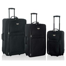 Genova 3 Piece Expandable Luggage Set