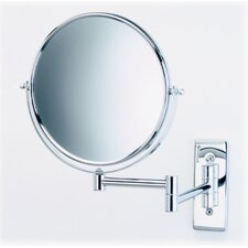 <strong>Jerdon</strong> Regular 5X Magnifying Wall Mounted Mirror