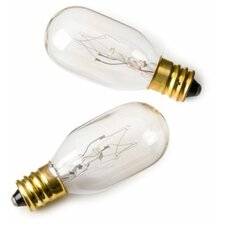 25W Lighted Mirror Replacement Incandescent Light Bulb (Pack of 2)
