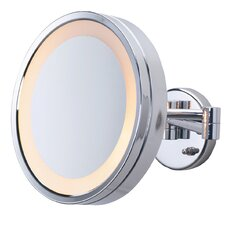 Hard-Wired 3x Wall Mount Halo Lighted Mirror