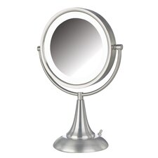 "<strong>Jerdon</strong> 15"" H x 10"" W Lighted Vanity Mirror"