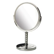 "<strong>Jerdon</strong> 13"" H x 9"" W Dual Sided Vanity Mirror"
