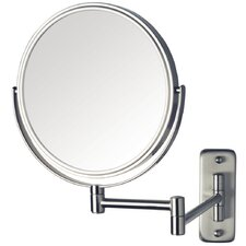 Dual Sided 8x Wall Mount Mirror