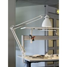 L-1 Edge Clamp Architect Lamp with Bowl Shade