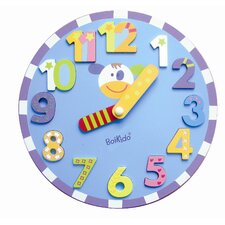 Wooden Chunky Clock Puzzle