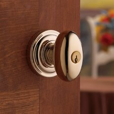 "3.16"" Egg Keyed Entry Knob with Emergency Exit Function"