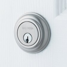 "Traditional 4.5"" Deadbolt with Patio Function"
