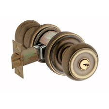 "2.7"" Colonial Keyed Entry Knob"
