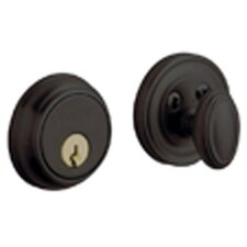 "4.5"" x 3.6"" Traditional Deadbolt with Single Cylinder"