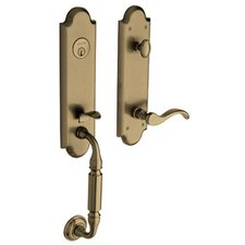 Manchester Emergency Exit Single Cylinder Handle Set with Left Handling
