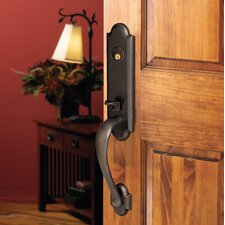 Stonegate Emergency Exit Single Cylinder Handle Set