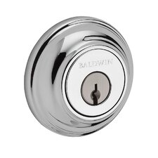 Contemporary Round Reserve Deadbolt