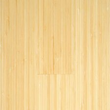 "Prefinished Vertical 3-3/4"" Solid Bamboo Flooring in Natural Matte"