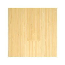"Vertical 5-3/8"" Engineered Bamboo Flooring in Natural Matte"