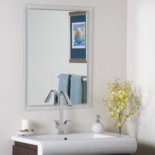 <strong>Decor Wonderland</strong> Frameless Kaleb Wall Mirror