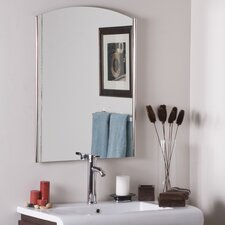 <strong>Decor Wonderland</strong> Frameless Ella Wall Mirror