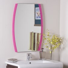 "<strong>Decor Wonderland</strong> 31.5"" H x 23.6"" W Paula's Wall Mirror"