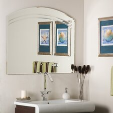 "<strong>Decor Wonderland</strong> 31.5"" H x 39.5"" W Angel Wall Mirror"