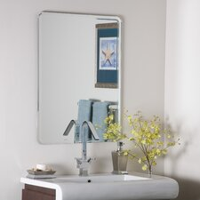 "<strong>Decor Wonderland</strong> 31.5"" H x 23.5"" W Samson Wall Mirror"