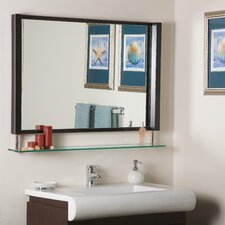 "23.5"" H x 39.5"" W New Amsterdam Wall Mirror"