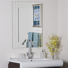 "<strong>Decor Wonderland</strong> 31.5"" H x 23.6"" W Mischa Wall Mirror"