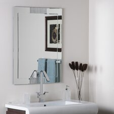 "31.5"" H x 23.6"" W Francisca Wall Mirror"
