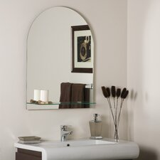 "31.5"" H x 23.6"" W Roland Frameless Wall Mirror"