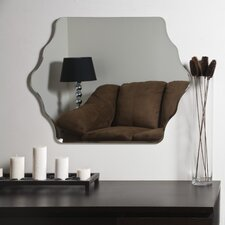 "31.5"" H x 23.6"" W Vandam Frameless Wall Mirror"