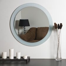 "<strong>Decor Wonderland</strong> 27.6"" H x 27.6"" W Zoe Wall Mirror"