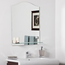 "31.5"" H x 23.6"" W Abigail Modern Bathroom Mirror"