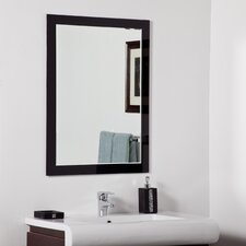 "31.5"" H x 23.6"" W Aris Modern Bathroom Mirror"