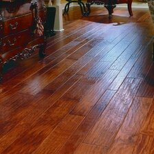 "7"" Engineered Hickory Flooring in Autumn"