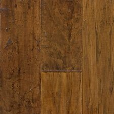 Random Width Engineered Hickory Flooring in Flintlock