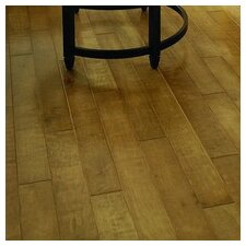 "Crossfire 5"" Handscraped Engineered Maple Flooring in Tinder"