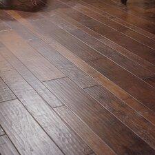 Random Width Engineered Walnut Flooring in Black