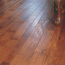<strong>Virginia Vintage</strong> Random Width Engineered Hickory Flooring in Autumn