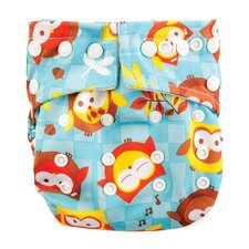 <strong>Bumkins</strong> Owls Snap in One Diaper