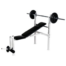 <strong>Body Flex</strong> Weight Adjustable Olympic Bench