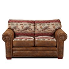 <strong>American Furniture Classics</strong> Deer Valley Lodge Loveseat